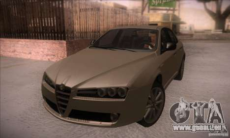 Alfa Romeo 159 pour GTA San Andreas vue intérieure