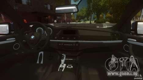 BMW Motorsport X6 M pour GTA 4 est un droit