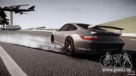 Porsche GT3 997 für GTA 4 Rückansicht