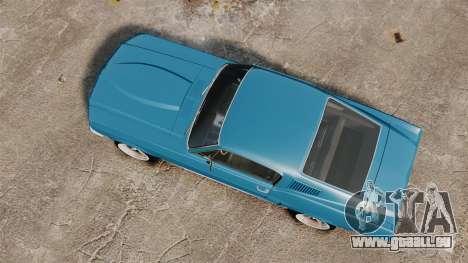 Ford Mustang Customs 1967 pour GTA 4 est un droit
