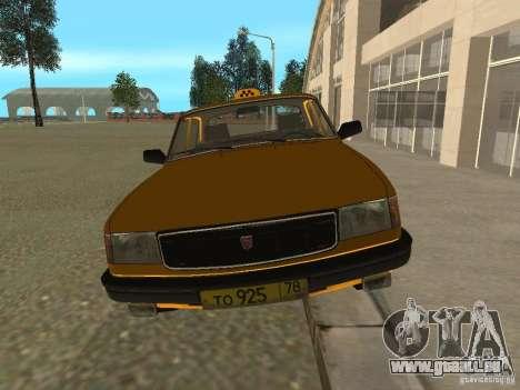Taxi GAZ 31029 pour GTA San Andreas