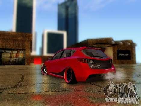 Mazda Speed 3 2010 für GTA San Andreas linke Ansicht