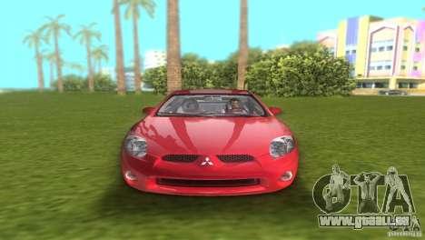 Mitsubishi Eclipse GT 2007 pour une vue GTA Vice City de la droite