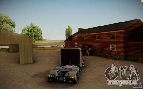 Mack Pinnacle Rawhide Edition pour GTA San Andreas vue de droite