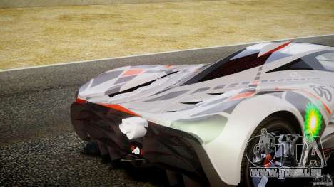 Mazda Furai Concept 2008 für GTA 4 Innen