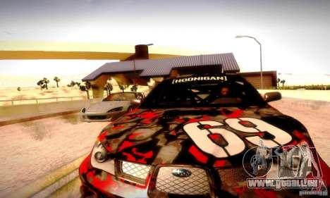 Drag Track Final pour GTA San Andreas quatrième écran