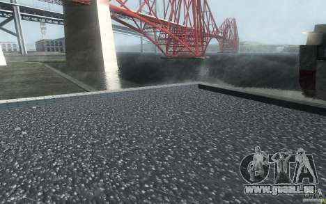 Point de contrôle HD box pour GTA San Andreas quatrième écran
