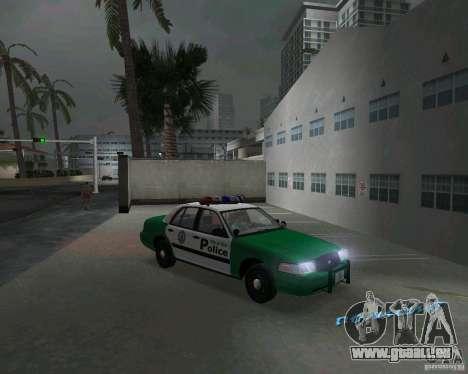 Ford Crown Victoria 2003 Police für GTA Vice City Rückansicht