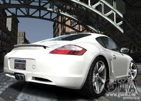 Porsche Cayman S1 pour GTA 4 est un côté