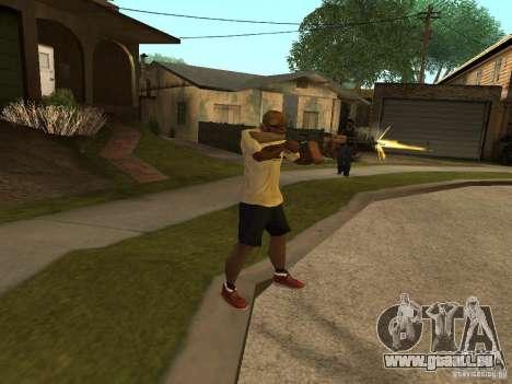 AK-74 de Arma II pour GTA San Andreas troisième écran