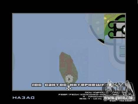 La Statue de la liberté pour GTA San Andreas quatrième écran