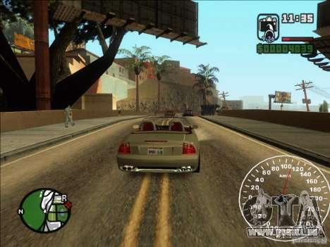 Spyder Cambriocorsa pour GTA San Andreas vue de droite