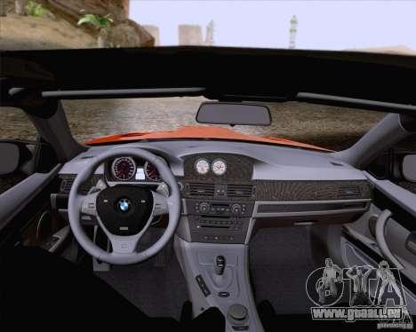 BMW M3 GT-S Fixed Edition pour GTA San Andreas vue de côté