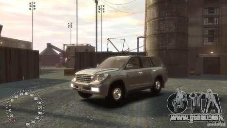 Toyota Land Cruiser 200 2010 pour GTA 4