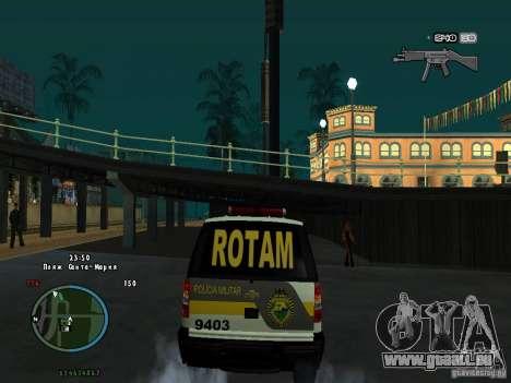 Chevrolet Blazer pour GTA San Andreas vue de droite