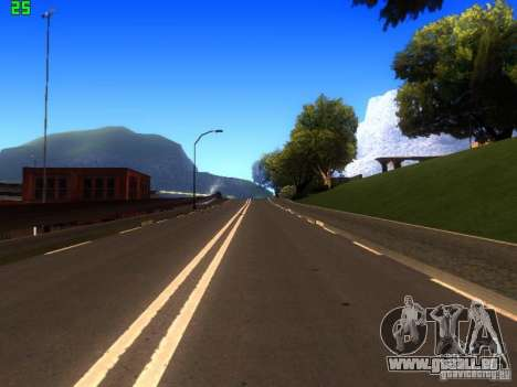 Roads Moscow für GTA San Andreas sechsten Screenshot