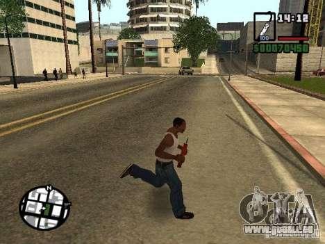 Dynamite pour GTA San Andreas deuxième écran