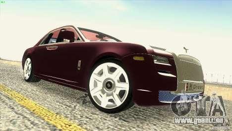 Rolls-Royce Ghost 2010 V1.0 pour GTA San Andreas vue de dessous