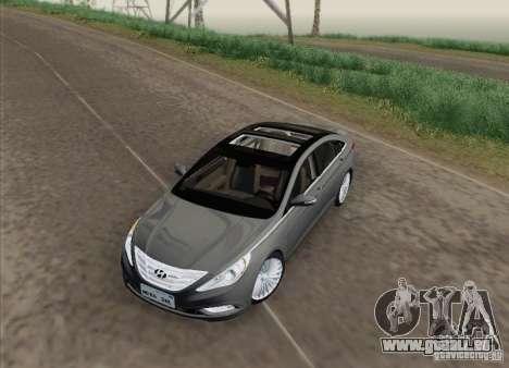 Hyundai Sonata 2012 für GTA San Andreas rechten Ansicht