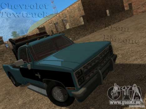 Chevrolet Towtruck pour GTA San Andreas