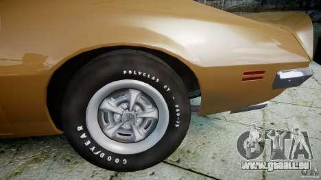 Pontiac Firebird 1970 pour GTA 4 est un droit