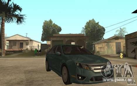 Ford Fusion 2010 für GTA San Andreas Rückansicht