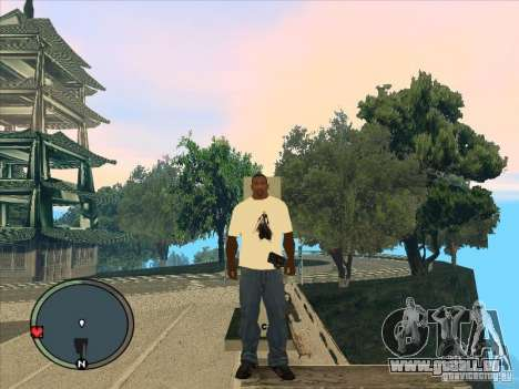 Bleach t-shirt pour GTA San Andreas