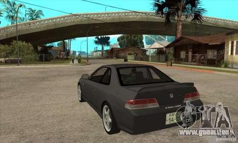 Honda Prelude SiR pour GTA San Andreas sur la vue arrière gauche