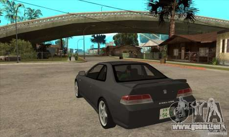 Honda Prelude SiR für GTA San Andreas zurück linke Ansicht