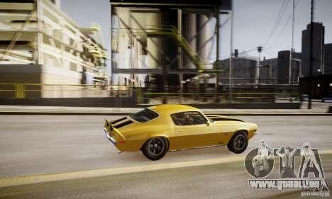 Chevrolet Camaro Z28 pour GTA 4 Salon