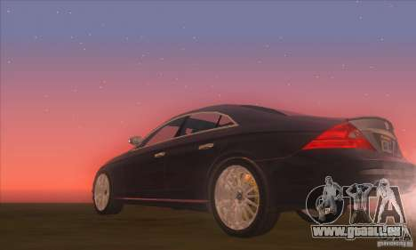 Mercedes-Benz CLS AMG pour GTA San Andreas vue de droite