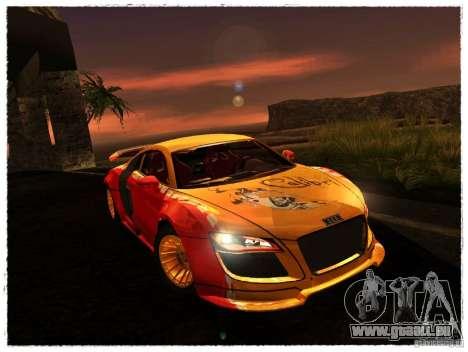 Audi R8 Calibri-Ace pour GTA San Andreas