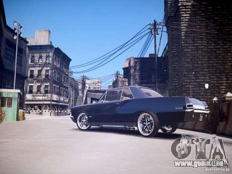 Pontiac GTO 1965 Custom discks pack 3 für GTA 4 linke Ansicht