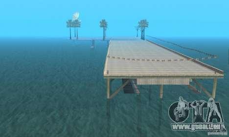 Dan Island v1.0 pour GTA San Andreas deuxième écran
