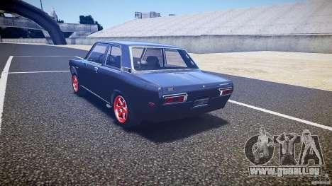 Datsun Bluebird 510 Tuned 1970 [EPM] pour GTA 4 Vue arrière de la gauche