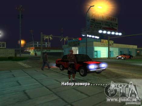 Killer Mod für GTA San Andreas fünften Screenshot