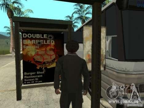 Ligne de bus à Las Venturas pour GTA San Andreas cinquième écran
