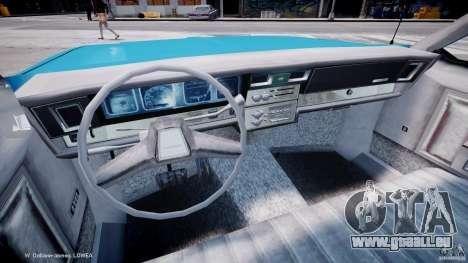 Chevrolet Impala Police 1983 v2.0 für GTA 4 Rückansicht
