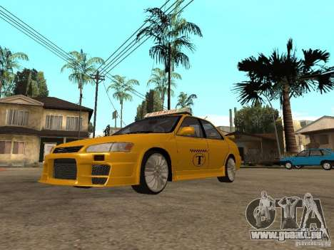 Toyota Camry TAXI pour GTA San Andreas