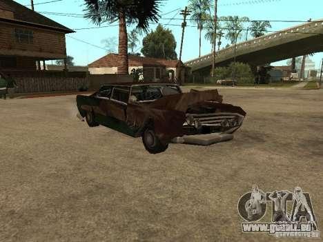 OceanicShit pour GTA San Andreas vue de côté