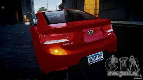 KIA Forte Koup für GTA 4 Seitenansicht