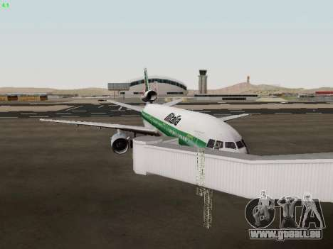 McDonell Douglas DC-10-30 Alitalia pour GTA San Andreas vue intérieure