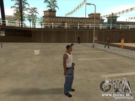 Tennisschläger für GTA San Andreas zweiten Screenshot