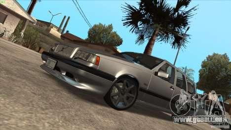 Volvo 850 R pour GTA San Andreas vue intérieure