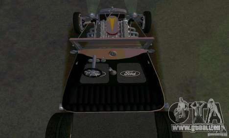 Ford T 1927 Hot Rod für GTA San Andreas obere Ansicht