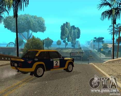 Fiat 131 Rally für GTA San Andreas rechten Ansicht