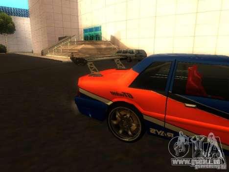 Previon FNF3 für GTA San Andreas zurück linke Ansicht