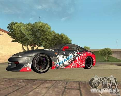Toyota Supra by Cyborg ProductionS pour GTA San Andreas vue intérieure