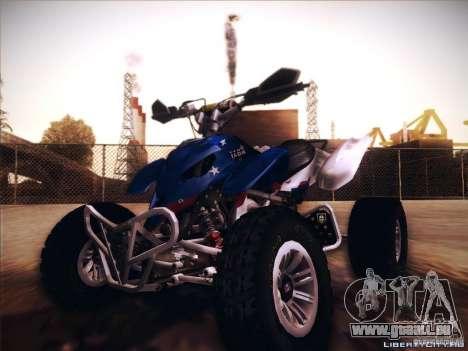 Bike Pure pour GTA San Andreas vue intérieure