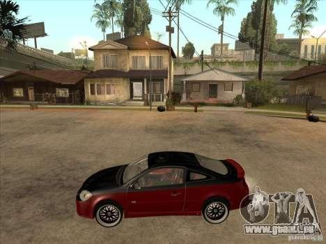 Chevrolet Cobalt ss Tuning für GTA San Andreas linke Ansicht